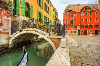 Картина Канал в Венеции, Италия