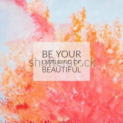 Картина Вдохновение мотивация цитата о жизни