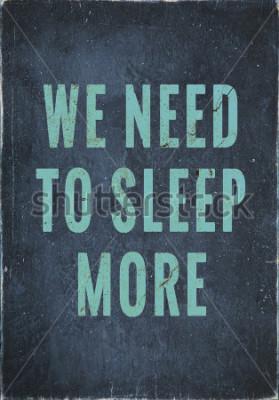 Картина Раскрашенный вручную мотивационный винтажный плакат