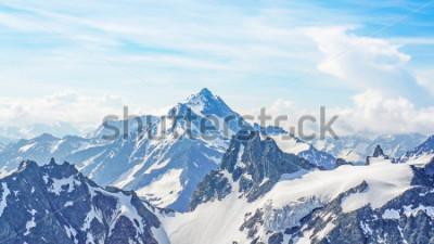 Картина Альпы с вершины Титлис