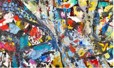 Картина Текстура, фон, рисунок. Картина написана художником. Искусство абстрактного фона текстура, акрил на холсте. Силуэты людей, восточные темы,