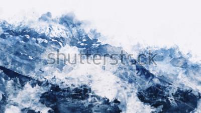Картина Цифровая акварельная живопись
