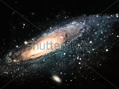 Картина спиральная галактика