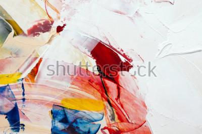 Картина окрашенный абстрактный фон