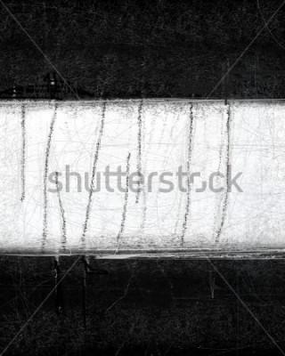 Картина Черно-белая абстрактная живопись