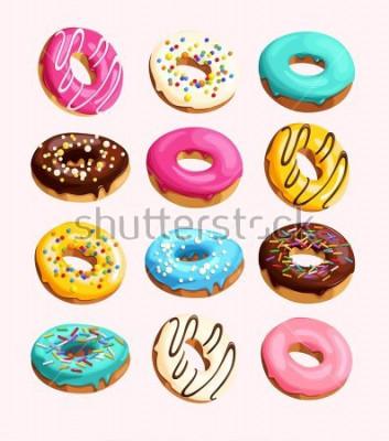 Картина Набор пончиков