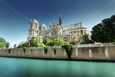 Картина Собор Парижской Богоматери, Франция
