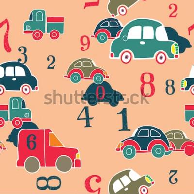 Картина машины и цифры