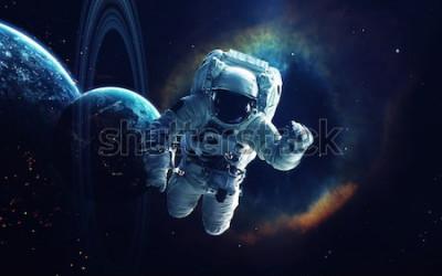 Картина Космическое искусство, обои научной фантастики. Красота глубокого космоса. Миллиарды галактик во вселенной. Элементы этого изображения, представленные НАСА