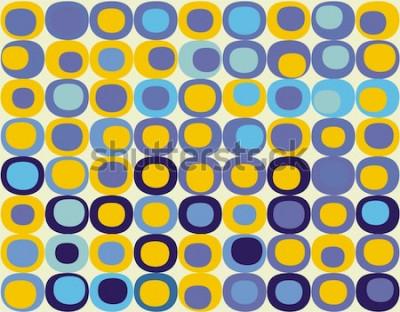 Картина Ретро бесшовные квадратный узор