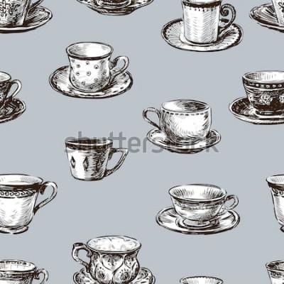 Картина образец чашек