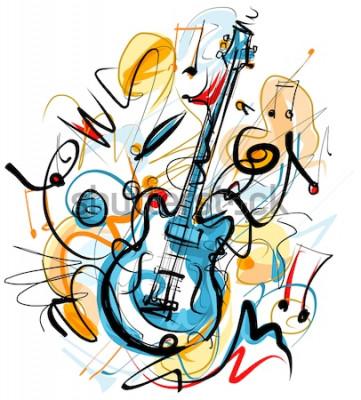 Картина Гитара соло