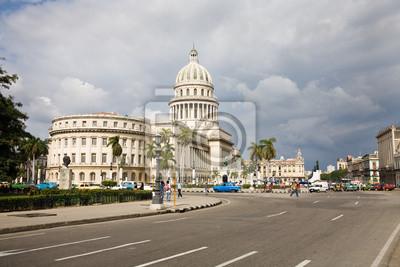 Картина Капитолий, Гавана, Куба