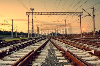 Картина Железнодорожная станция