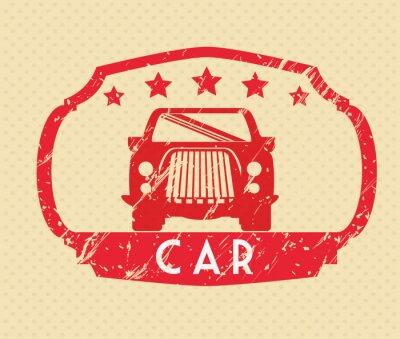 Картина Автомобили концепции дизайна