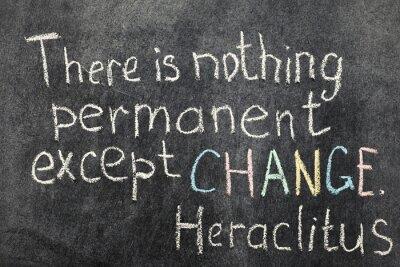 изменение является постоянным