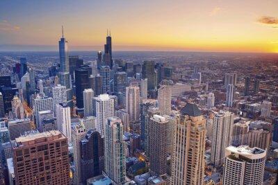 Картина Чикаго.