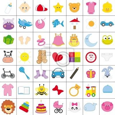 Iconos Infantiles ан цвет