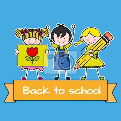 детей обратно в школу