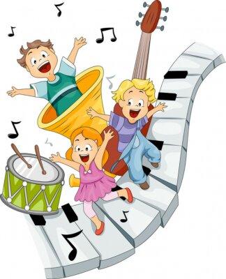 Дети Музыка