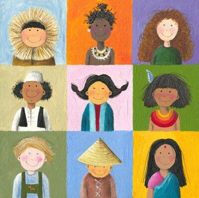 Картина Дети мира