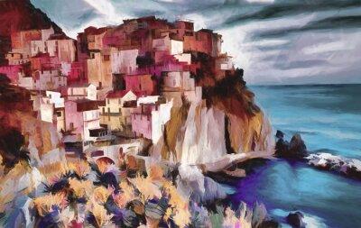 Картина Cinque Terre
