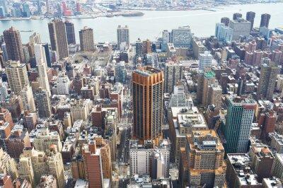 Картина Городской вид Манхэттена