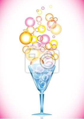 Коктейль с пузырьками