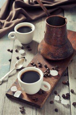 Картина Кофе в чашки