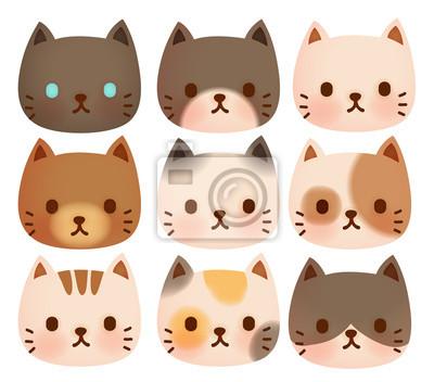 Коллекция милый кот