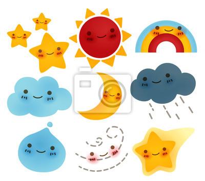 Коллекция Погода значок
