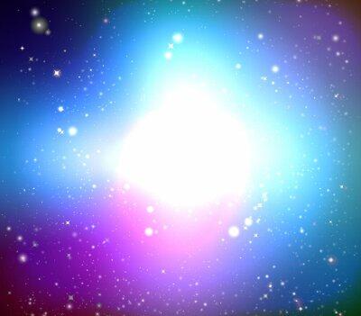 Картина Цвет галактика