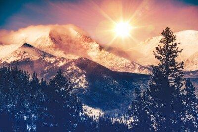 Картина Колорадо Горы Vista,