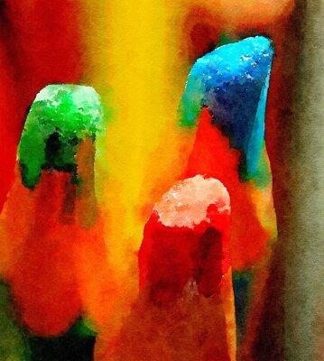 Картина Цветные карандаши