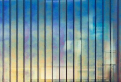 Картина Красочные офис стены из стекла, фон