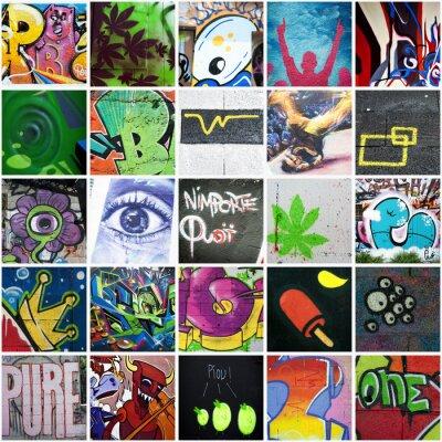 Картина Состав граффити Urbain