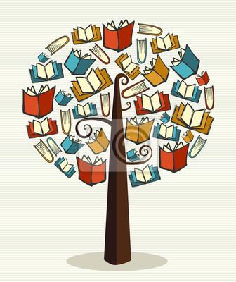 Концепция книги дерево