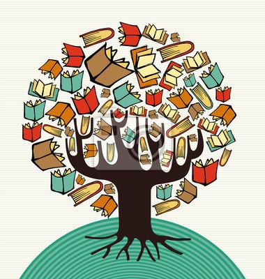Эскизный проект книги по искусству дерево