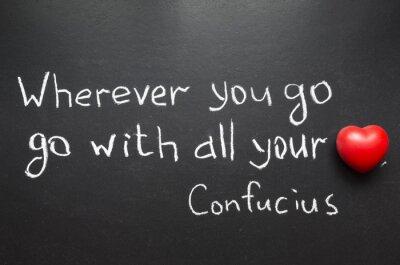 Конфуций цитатой