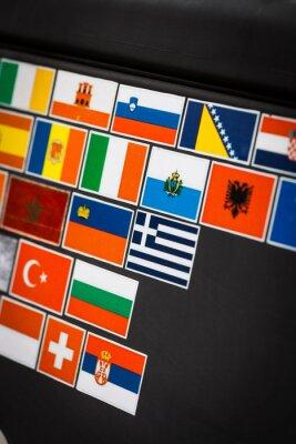 Картина наклейки флаг страны