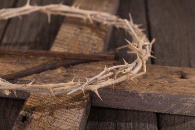 Картина Терновый венец на кресте