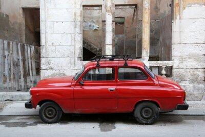 Картина Куба, Гавана, Олдтаймер