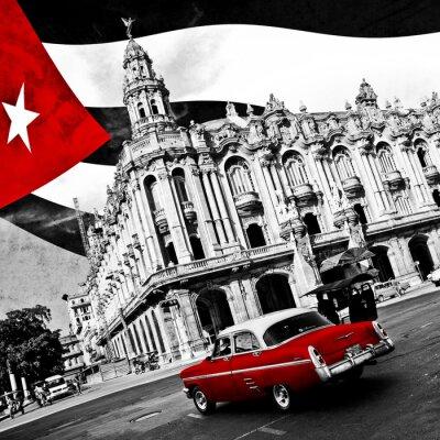 Картина Куба (п & б)