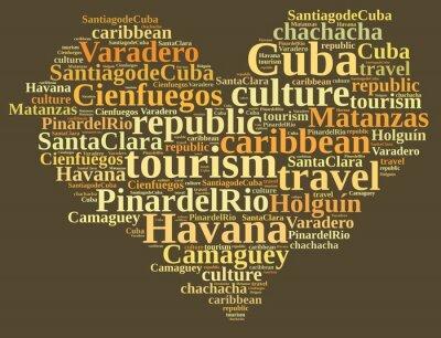 Картина Куба туризм.