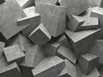 Картина cubes wall