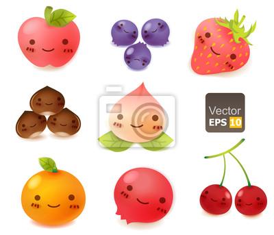 Симпатичные Fruit Collection
