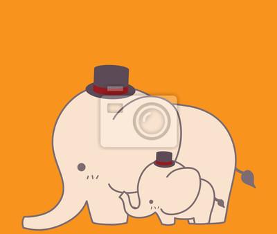 Cute матери день карты - векторный файл EPS10