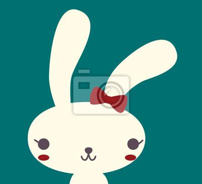 Милый кролик - векторный файл EPS10