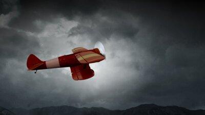 Картина Опасность авиакатастрофы. Смешанная среда