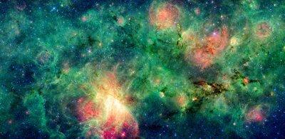 Картина Темное облако M17 M17 и туманность Swex. Обработанная и очистить версию исходного изображения из НАСА
